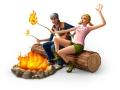 Sims 4 Outdoor Leben vor dem Campfeuer