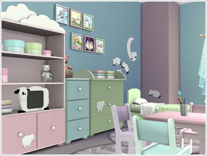 Schöne kinderzimmermöbel  Sims 4 – Schöne Downloads für das Kinderzimmer