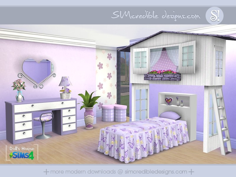 Sims 4 – Schöne Downloads für das Kinderzimmer | {Schöne kinderzimmer 29}