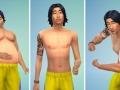 Sims 4 Körpertypen