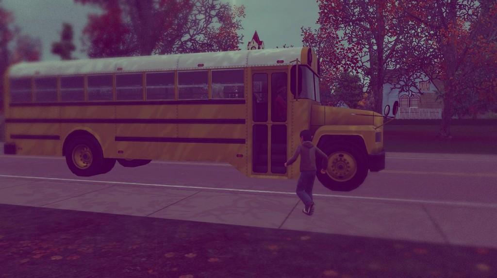 Alfred geht zur Schule