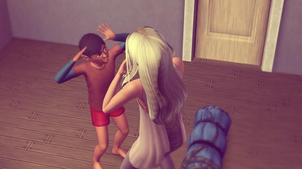 100 Baby Challenge Alfred und Anna bödeln