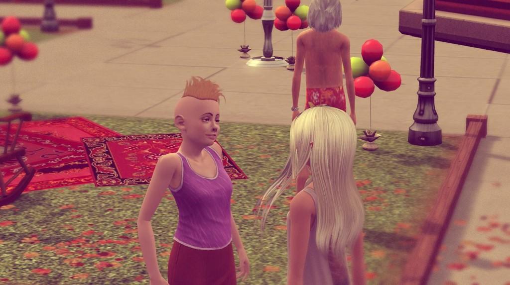 Anna beim Herbstfest