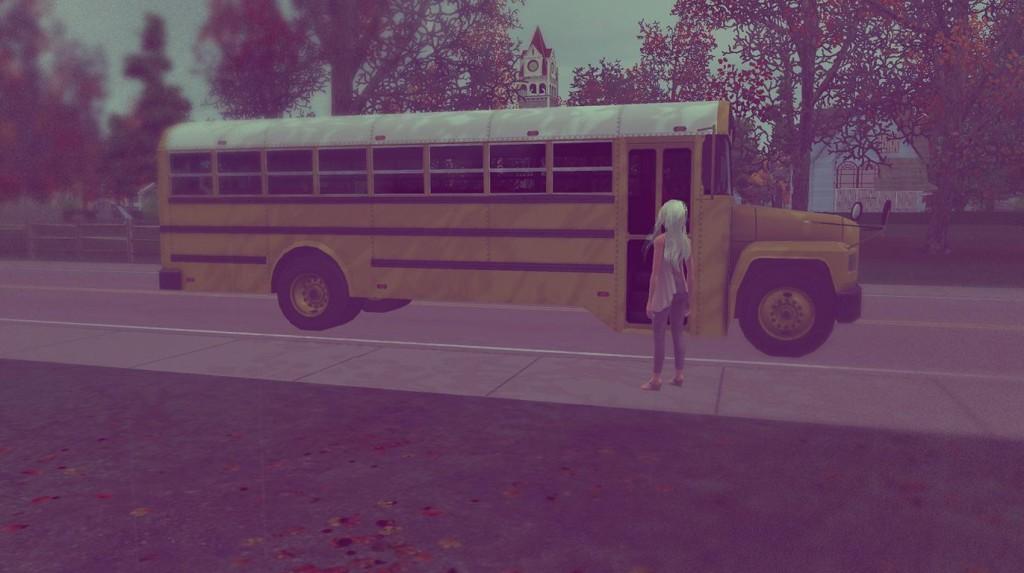 Anna geht zur Schule