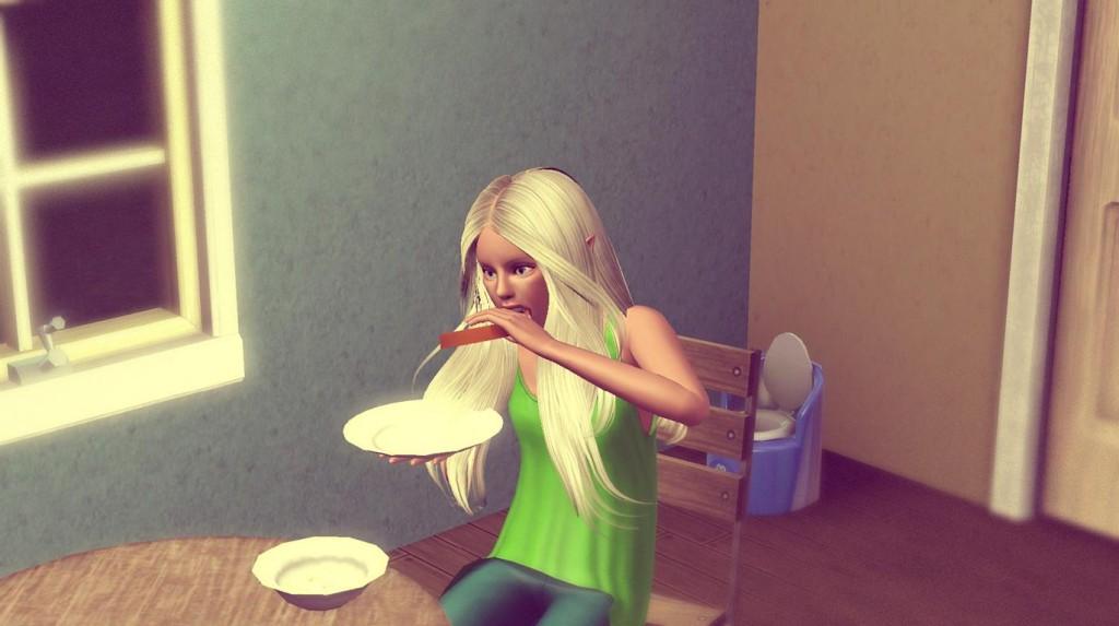 Anna isst