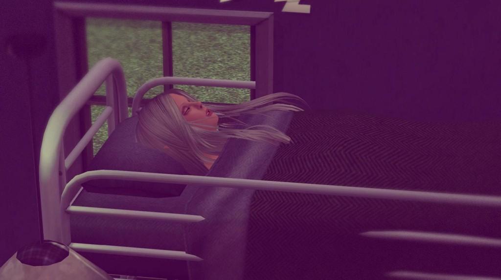 Anna schläft