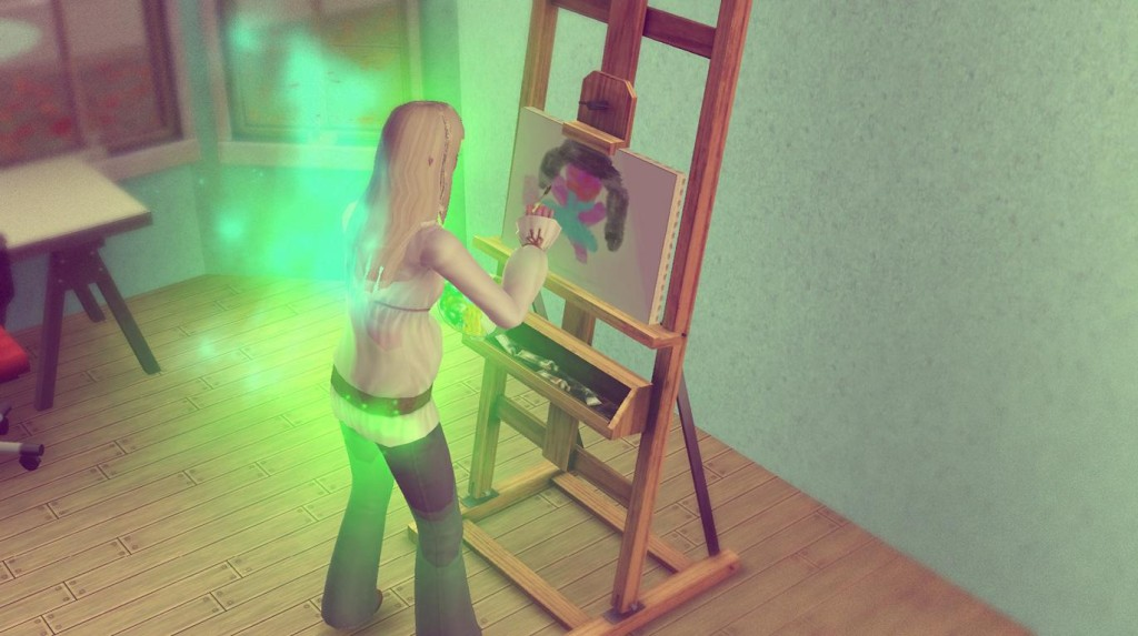 Elena kann nicht malen