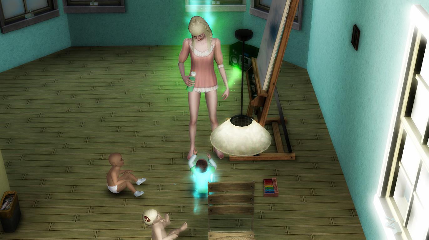 Elena wird gestört