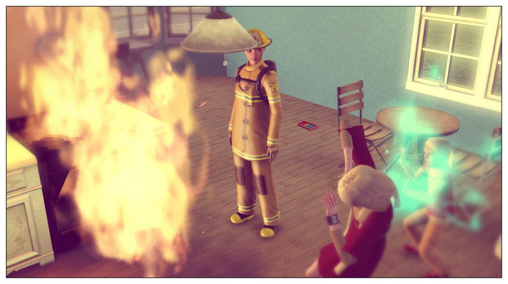11-Die Feuerwehr ist da