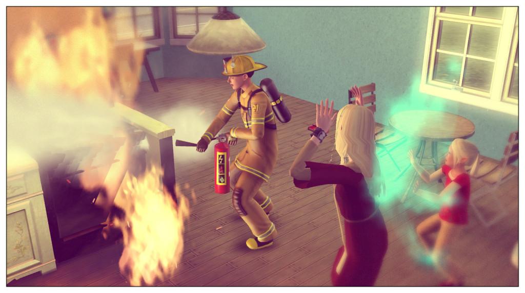 12 - Feuerwehr rettet den Tag