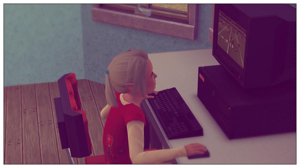 13 - Anna am Computer