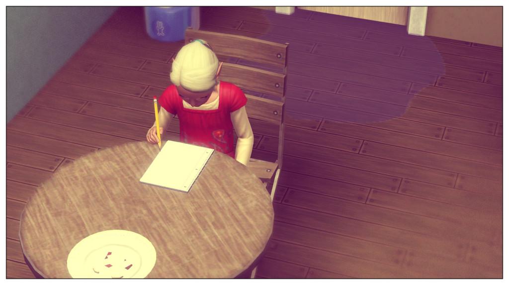 6-Anna beim Lernen