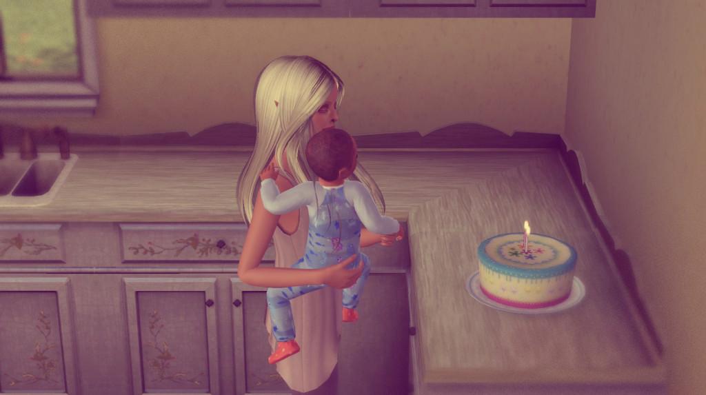 Alfed feiert seinen Geburtstag