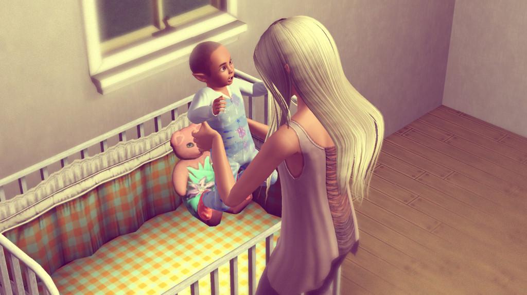 Sims 3 Challenge : Anna kümmert sich um Alfred