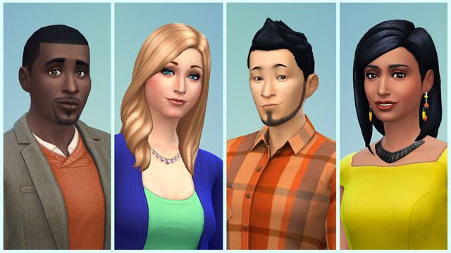 Unterschiedliche Kulturen in Sims 4