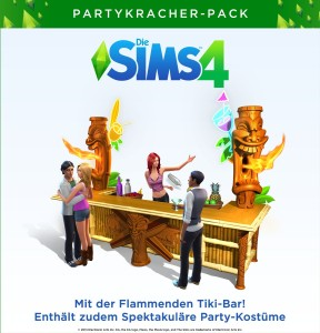 Die Sims 4 Download flammende Tiki Bar