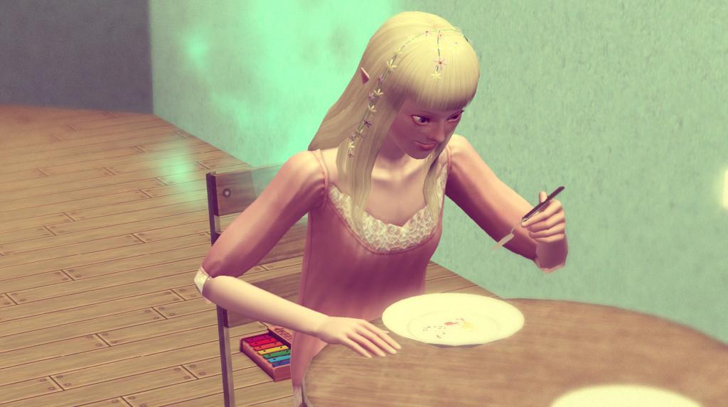 Sims 3 100 Challenge Elenas Frühstück