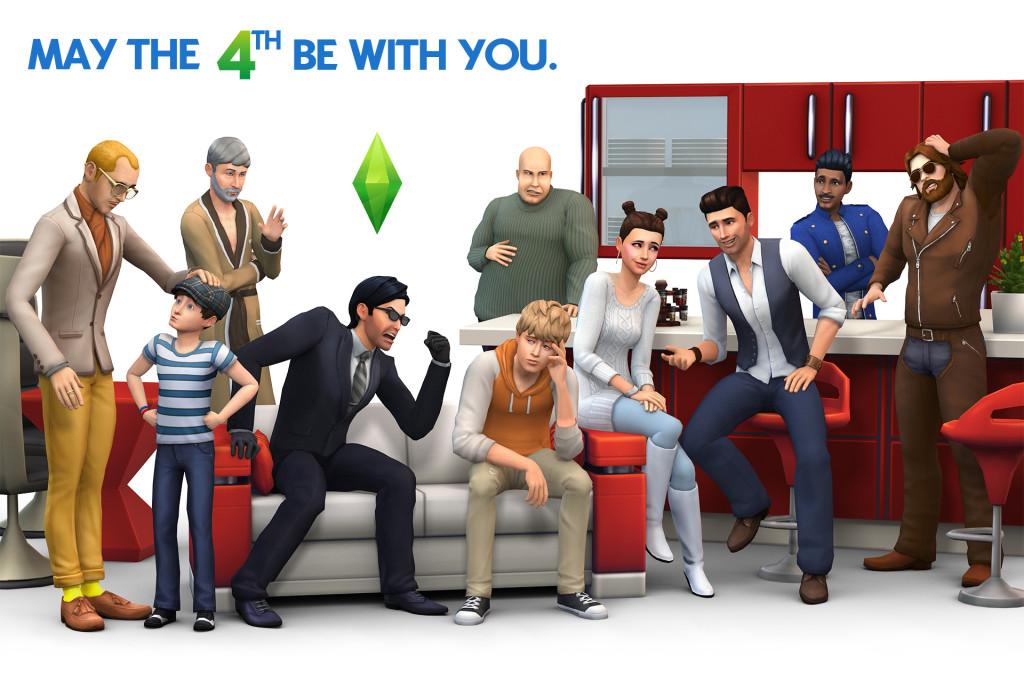 Sims 4 Artwork mit Kindern