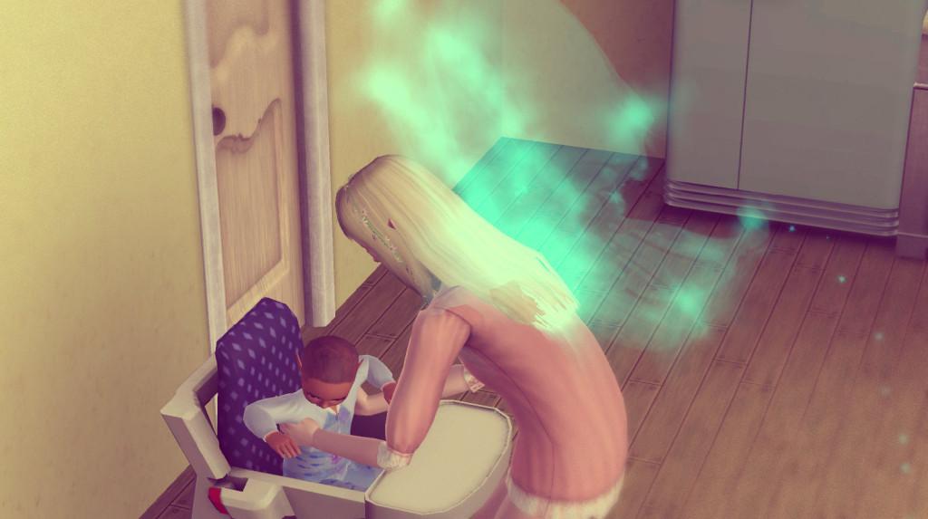 Sims 3 Challenge Alfred bekommt Babybrei
