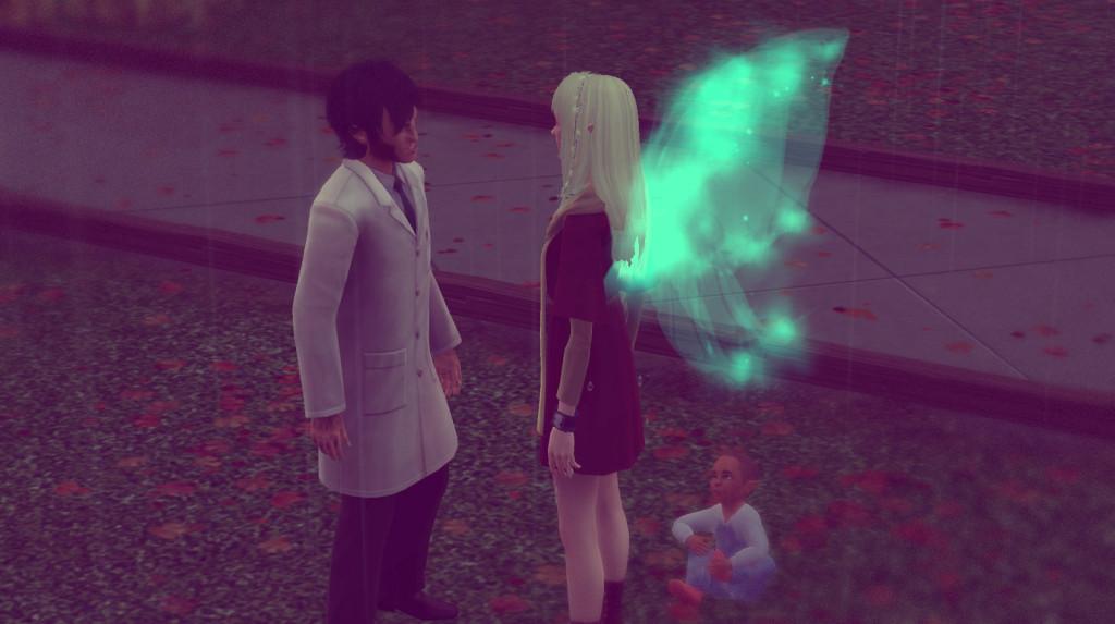 Panam und Elena treffen sich