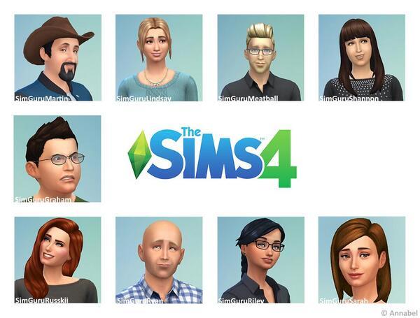 Sims 4 alle Avatare