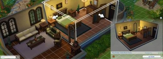 Neues Bild vom Baumodus in Sims 4