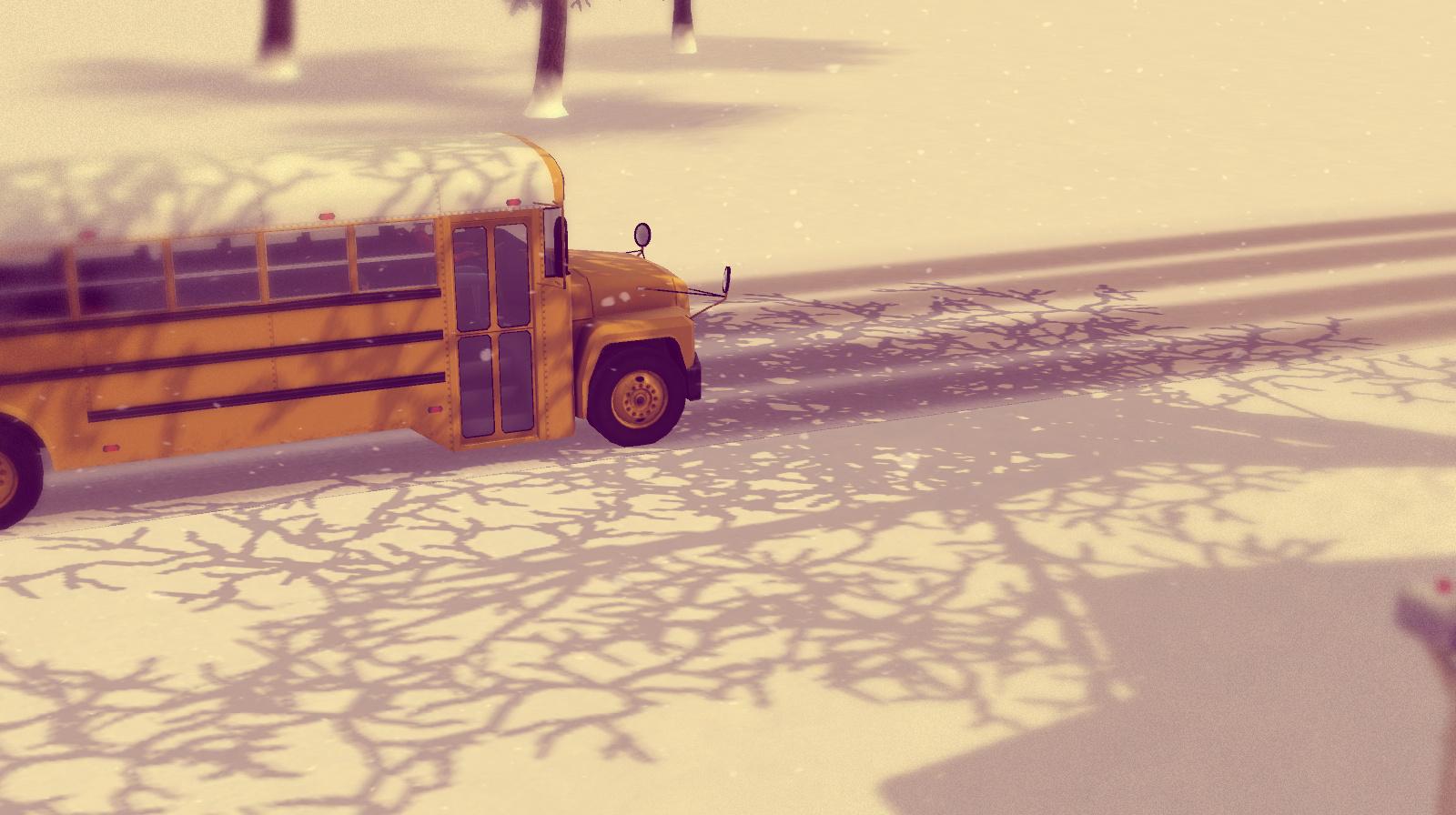 Kinder gehen in die Schule