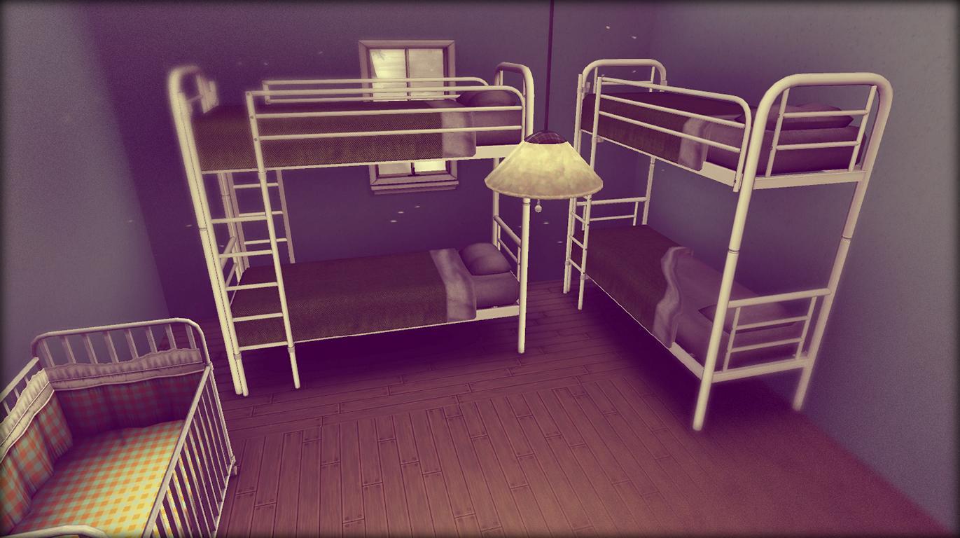 jeder hat ein Bett