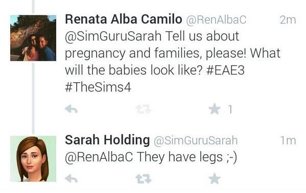 Sims 4 Babys haben wieder Beine