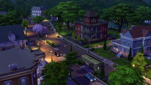 'Sims 4 Größe der Nachbarschaf