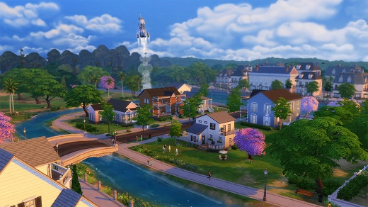 Sims 4 Willow Creek