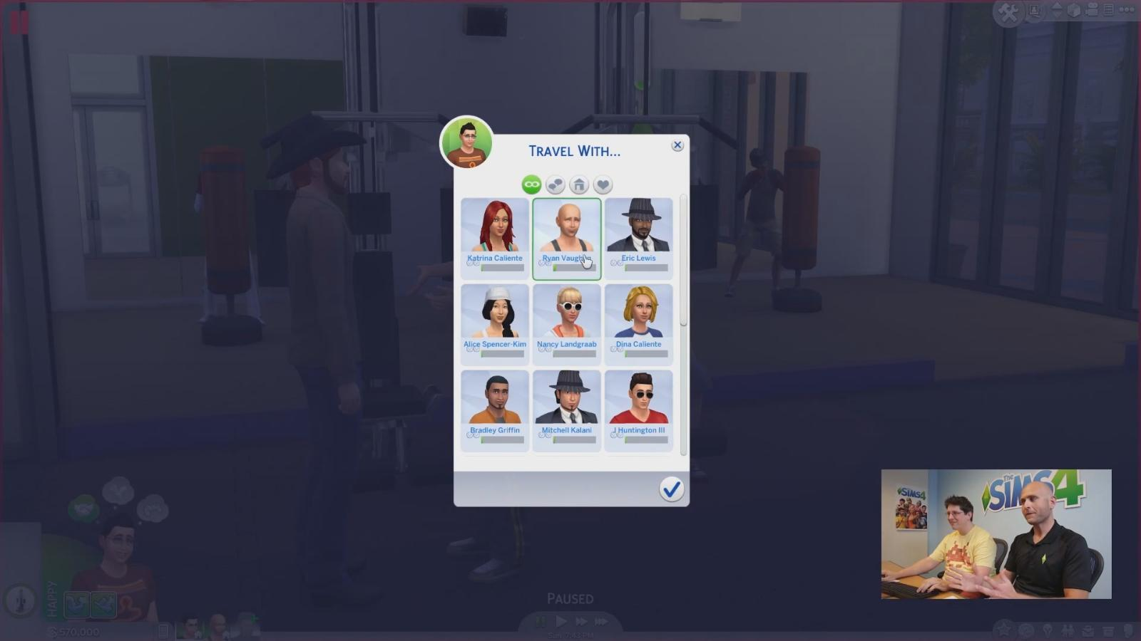Sims 4 gameplay trailer fitnessstudio 108 for Sims 4 schwangerschaft cheat