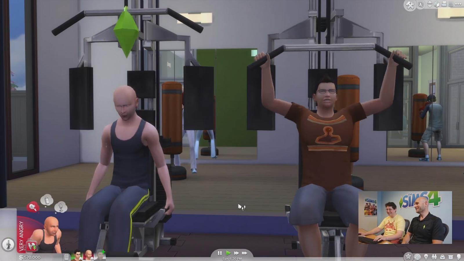 Sims 4 gameplay trailer fitnessstudio 32 for Sims 4 schwangerschaft cheat