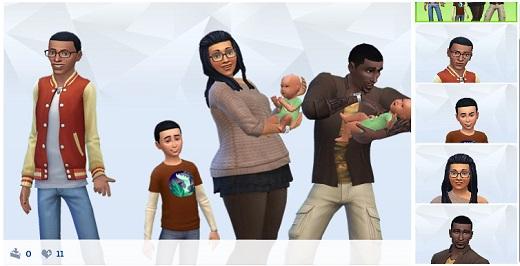 Sims 4 2 Babys