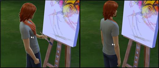 Sims 4 Mod kein weißer Rand