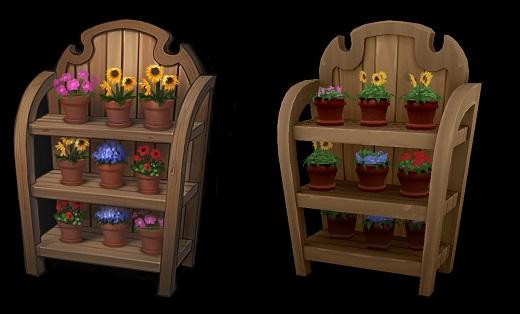 Sims 4 Addon Bild Blumenstand