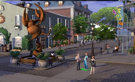 Sims 4 Addon Stadt