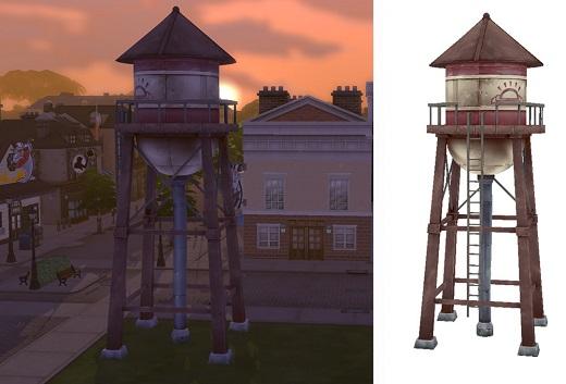 Sims 4 Addon Wassertank