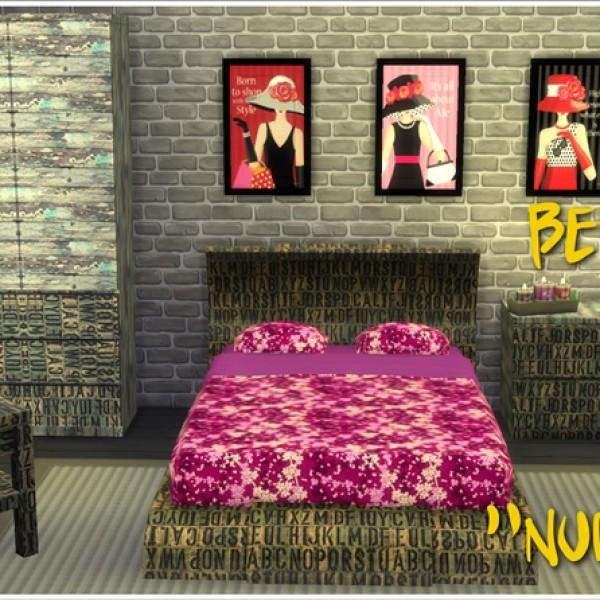 Annett's Sims 4 Welt Teenager Zimmer 3
