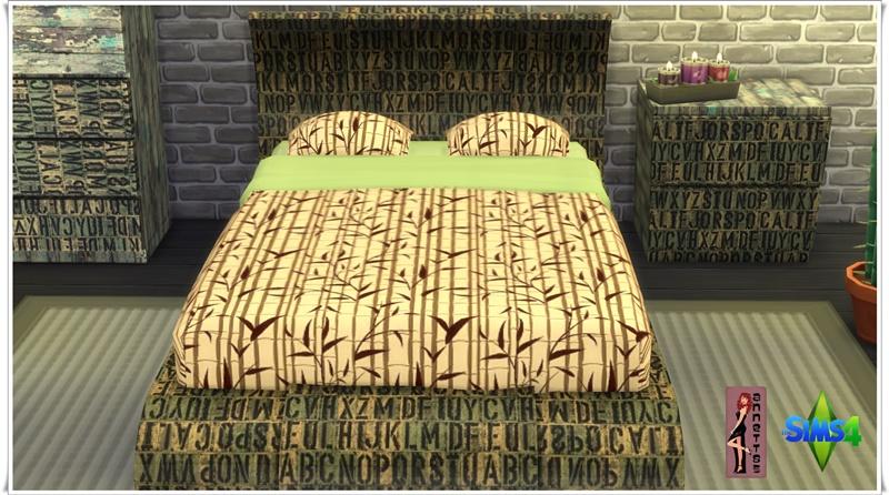 Etagenbett Sims : Loft bed set at dreamcatchersims via sims updates cc