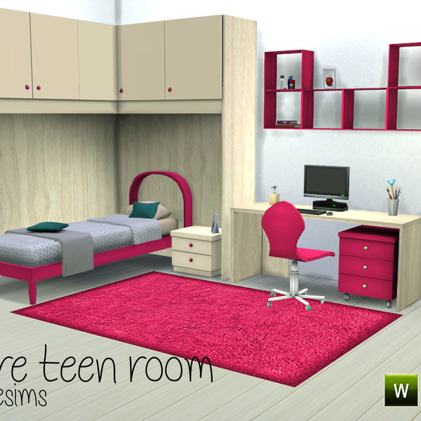 Claire Teen Room 2