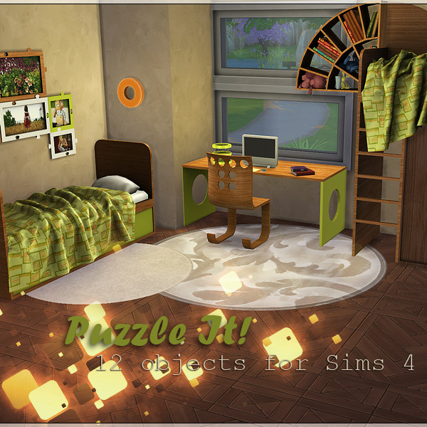 Puzzle it Bedroom set
