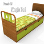 Puzzle it Bedroom set Bett