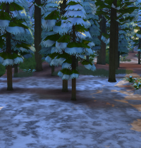 Schnee in Sims 4 Granite Falls 2