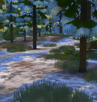 Schnee in Sims 4 Granite Falls 3