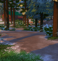 Schnee in Sims 4 Granite Falls 4