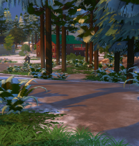 Schnee in Sims 4 Granite Falls 7