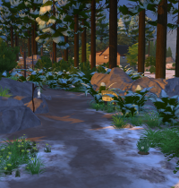 Schnee in Sims 4 Granite Falls 8