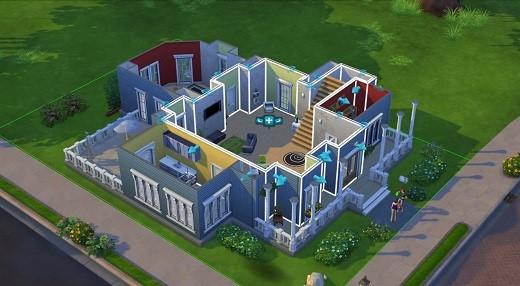 Sims 4 Baumodus