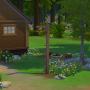 Sims 4 Grüne Zuflucht garten 1